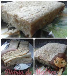 Receita: Pão de Forma Dukan | Diário de Mulher