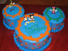 Pin Mickey Mouse Clubhouse Pictures For Cakes Necessidades Educativas Cake on Pinterest