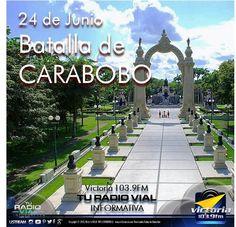 24 de Junio Día de la #BatallaDeCarabobo. La batalla de #Carabobo fue una de las principales acciones militares de la Guerra de Independencia de #Venezuela que se llevó a cabo en el Campo de Carabobo en el año 1821.