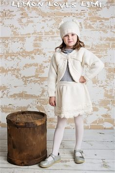 Lemon Loves Lime Bow Skirt in Winter White Fall 2014 Preorders for girls clothing that is cute and fashionable White Dress Winter, Winter Skirt, Winter White, Little Girl Closet, Bow Skirt, Girls Dresses, Flower Girl Dresses, Designer Kids Clothes, Girls Sweaters