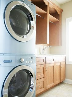 6 utility room package in glacier white with stacked washer and laundry room laundry room philadelphia echelon custom homes solutioingenieria Choice Image