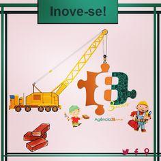 Inovar é preciso. #inovar #3b #mude #cresca #agencia3b #midiasocial #midiapublicitaria #cool #job #work #like #follow #maceio #instamaceio
