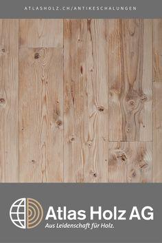 Antike Schalungen Marmolada, heimische Fichte, rustikal, gedämpft, gehackt und gebürstet / Wall Panels Marmolada, native Spruce, rustic, steamed, hewn and brushed