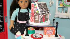 How to make American Girl Gingerbread House