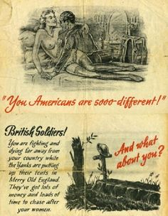 Nazi propaganda leaflet directed toward British soldiers, WWII
