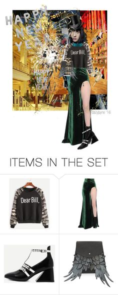 """dear bill…happy new year!"" by daizyjayne ❤ liked on Polyvore featuring art, contestentry and happynewyear"