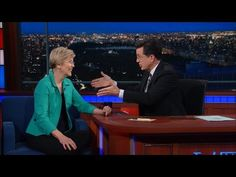 Watch: Elizabeth Warren to Colbert: 'Calling Donald Trump for Help Is Like Calling an Arsonist if Your House Is on Fire' | Alternet