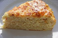 Krauttorte mit Emmentaler Käse