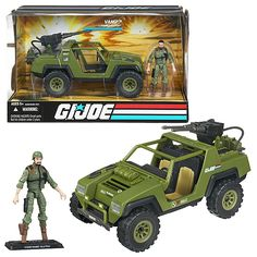 This was definitely one of my favorite G.I. Joe toys when I was a whippersnapper. Clutch (the driver) claimed to chew on the same toothpick for weeks. Yo Joe!