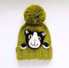 Kitty sombrero sombrero de punto Cat Cat amantes regalo