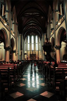 Photographing in Churches & Cathedrals