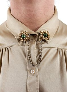 Vintage Collar Clip Tips