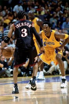 Iverson 1 on 1 with Kobe