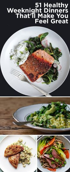 51 Healthy Weeknight Dinners Thatll Make You FeelGreat