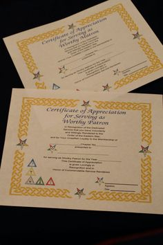 Certificate of Appreciation by OlsenEnterprises on Etsy, $30.00
