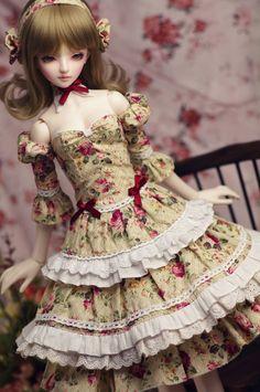 Bjd sd doll clothes togae dress