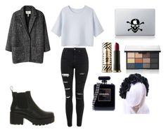 """""""Posh Goth"""" by mfossy on Polyvore featuring Vagabond, Étoile Isabel Marant, Alexander Wang, Topshop, Urban Decay, NARS Cosmetics and Chanel"""
