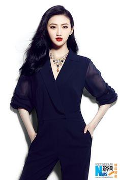 chinese actress Jing Tian 景甜