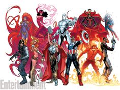 Changes for the Marvel Universe