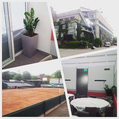 Location de plantes pour la suite d'une compagnie aérienne durant le tournoi de Roland Garros #Evenementiel #Event #locationplantes www.d-plantes.fr