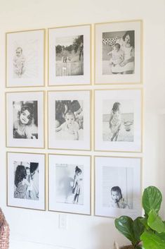 Grid Style Gallery Wall - Easy Tips for Displaying Family Photos