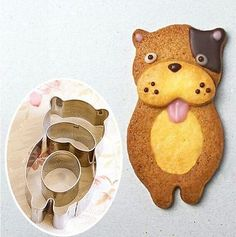 Totoro Squirrel Cow Sheep Bear Animal Cookie Biscuit Mold mould cutters cartoon
