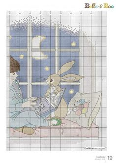 Belle and Boo / Cross stitch
