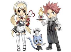 Cleaned version of the newest Mashima's chibi drawings for Charaum Cafe! ^^ Gruvia, Jerza and Nalu~ please credit if you use! PART 2 Fairy Tail Lucy, Fairy Tail Nalu, Art Fairy Tail, Fairy Tail Amour, Fairy Tail Photos, Fairy Tail Ships, Fairy Tales, Fairytail, Gruvia