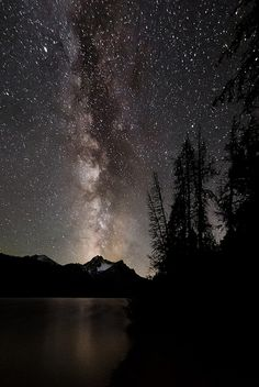 Milky Way at Stanley Lake | Flickr - Photo Sharing!