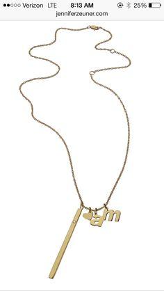 Jennifer Zeuner Avery necklace