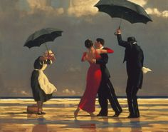 The Singing Butler - Jack Vettriano.