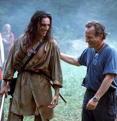 Last of the Mohicans Danial Day-Lewis & Michael Mann