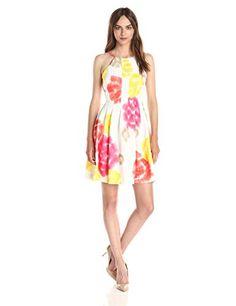 [AMAZON] Calvin Klein Women's Print Scuba Halter Dress - $35.19 with FREE SHIPING WORLDWIDE!