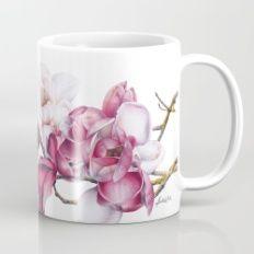 Mixed Magnolia Botanical Mug