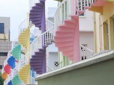 Singapore stairs