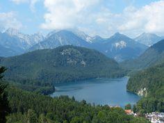 Hohenschwangau, Neuschwanstein, Schwangau, Bayern