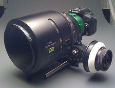 GH1 100mm Master Prime With Hot Rod Cameras PL Mount, via Flickr