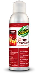 One Shot Fire Odor Bomb   Total Release Fogger • Smoke Odor Counteractant • Works in Deep Crevices • Home, Office, Automobiles