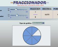 simulador de fracciones