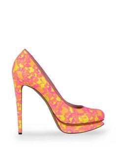 Nicholas Kirkwood- Pink/Yellow Pumps