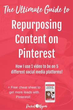Want to learn how to work smarter by repurposing content? In this post I'll share with you 10 different ways I use 1 piece of content! Social Media Content, Social Media Tips, Content Marketing Strategy, Social Media Marketing, Marketing Tools, Opt In, Web Design, Pinterest For Business, Pinterest Marketing