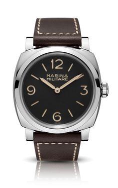 RADIOMIR 1940 3 DAYSMARINA MILITARE ACCIAIO PAM00587 - Collection 2014 - Watches Officine Panerai