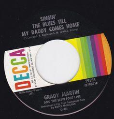"Hot Lips/Singin The Blues Till My Daddy Comes Home (7""/45 rpm) DECCA http://www.amazon.com/dp/B00ITTQOS6/ref=cm_sw_r_pi_dp_nZENvb11WZYJB"