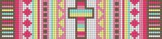 Alpha Friendship Bracelet Pattern #11280 - BraceletBook.com