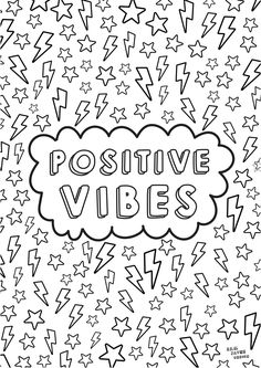 Discover our new printable mindfulness colouring pages for adults and kids. Calm your mind and de-stress with these beautiful colouring pages. Tumblr Coloring Pages, Quote Coloring Pages, Easy Coloring Pages, Free Adult Coloring Pages, Coloring Books, Colouring Sheets For Adults, Coloring Sheets, Kids Printable Coloring Pages, Mindfulness Colouring