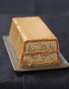 Envie d'une recette de Dessert facile et rapide ? Découvrez cette recette de Gâteau à la noisette et ganache chocolat café par Croquons la vie.