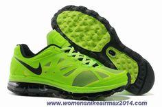 Discounts 487982-301 Electric Green Black White Nike Air Max 2012 Mens