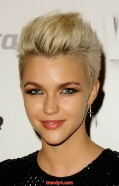 Fun Short Choppy Hairstyles and Haircuts 2014