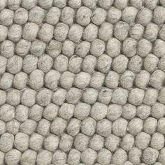 Hay+Peas+carpet+soft+grey+140x200cm+Tæppe