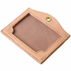 Handmade Made in Japan High quality product Badge Holders, Card Holder, Leather Badge Holder, Leather Projects, Leather Crafts, Small Leather Goods, Leather Accessories, Leather Working, Innovation Design